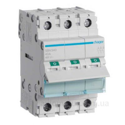 Выключатель нагрузки Hager SBN340 (40А) (0-I)