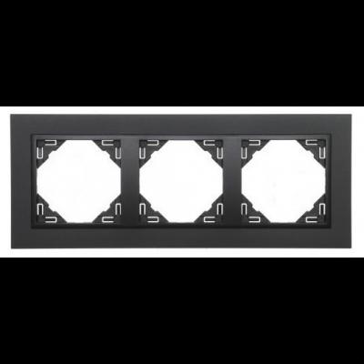 Изображение Efapel серии Logus 90. Animato 90930 TRR черного цвета