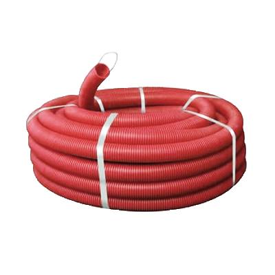 Труба DKC Ø90мм (красного цвета) (121990N)