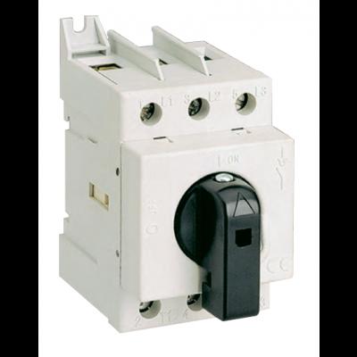 Модульный разрывной 3P выключатель нагрузки 0-1 на 125А Technoelectric 19208