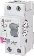 Реле дифференциальное УЗО ETI EFI6-2 25А/0,03А тип AC 6kA