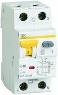 Дифференциальный автоматический выключатель АВДТ32, C6А, 30мА, IEK
