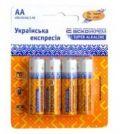 Батарейка щелочная AА.LR6.BP4 (blister 4)