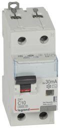 Дифференциальный автоматический выключатель 1P+N C 10A 30mA AC, Legrand