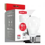 Светодиодная лампа 1-LED-561 А60 10Вт Maxus 3000К, Е27