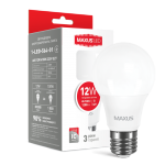 Лампочка светодиодная 1-LED-564 А65 12Вт Maxus 4100К, Е27