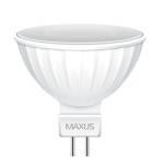 LED лампа MR16 5Вт Maxus 3000К, GU5.3