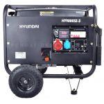 Бензоэлектростанция HY 9000SE-3, Hyundai 6,5кВт