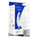 Светодиодная лампа C37 CL-F 5Вт 4100К Е14 Maxus серия Global