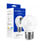 LED лампа G45 F 5Вт 4100К Е27 Maxus серия Global