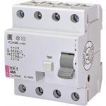 УЗО ETI EFI6-4 40/0,03 тип AC (6kA)