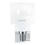 Лампа Led 1-LED-541-02 G45 8Вт Maxus 4100K, E14