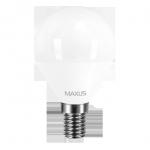 Лампа led 1-LED-5411 G45 4Вт Maxus 3000K, E14