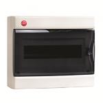 Щит настенный 12 мод. с дверцей RAL9001 Ram Base, DKC