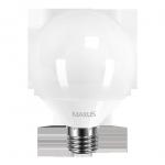 Лампа LED G95 15Вт Maxus 4100K, E27
