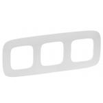 Рамка трехместная Legrand Valena Allure белая