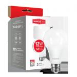Лампа светодиодная 1-LED-563 А65 12Вт Maxus 3000К, Е27