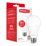 Лампочка светодиодная 1-LED-564-P А65 12Вт Maxus 4100К, Е27