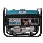 Газобензиновый гибридный генератор KS 3000G, Könner&Söhnen 3кВт