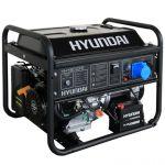 Бензогенератор HHY 9010FE, Hyundai 6,5кВт