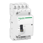 Контактор ICT 25A 3НО с ручным управлением Schneider Electric