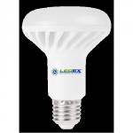Лампа светодиодная рефлекторная R80 10Вт LedEX 4000К, Е27