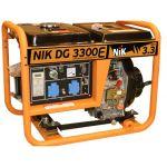 Дизельный генератор 3,6 кВт, NIK, DG3600