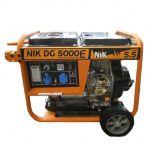 Генератор 5,5 квт, DG5500, NIK