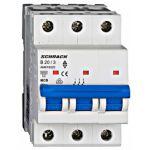 Автоматический выключатель 20А 3P 6кА х-ка B, Schrack