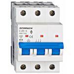 Автоматический выключатель 25А 3P 6кА С, Schrack Technik