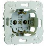 Механизм розетки одинарной безвинтовой 2P+Z, 16А/250V LOGUS 90