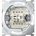 Механизм выключателя 2-клавишный Merten, MTN3155-0000