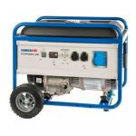 Бензиновая электростанция ESE 6000 BS ES + набор колес, Endress 5,5кВт