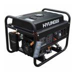 Бензогенератор HHY 7000FE ATS + набор колес, Hyundai 5,5кВт