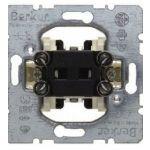 Выключатель одноклавишный крестовой (механизм) 10АХ/250В Berker