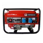 Бензиновый электрогенератор KrafTWele OHV-6500 3F El. 4,8кВт