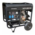 Дизель-электростанция DHY 6000LE-3 + набор колес, Hyundai 5,5кВт