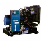 Дизельный генератор Montana J 33 Compact, SDMO 26,4кВт