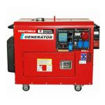 Электрогенератор KrafTWele SDG9800S 1F ATS 9,8кВт