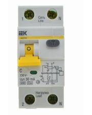 Выключатель дифференциальный АВДТ32, C32А, 30мА, IEK