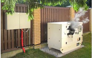 Если соседям мешает шум генератора...