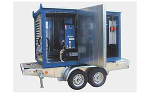 Передвижные генераторы с установкой на прицеп