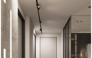 Эффективные идеи освещения коридора предполагают креативные акценты